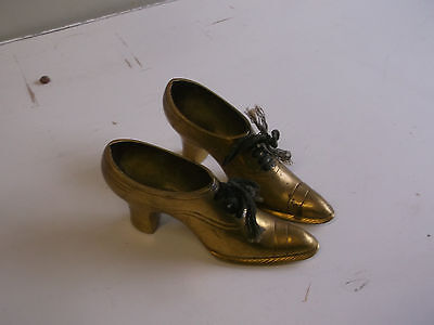Brass Shoe / Pin Cushion Victorian Style A Nice Gift