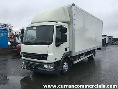 2008 Daf LF 45.160 7.5 ton, 20ft Box body with roller door euro 5
