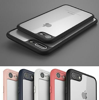 SLIM THINNEST Crystal Clear Bumper TPU Ultra Thin Case Cover iPhone 6 6s 7 Plus