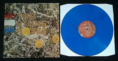 """The Stone Roses - Debut Lp - Pressed On 12"""" Heavy Blue Vinyl Mani Ian Brown"""