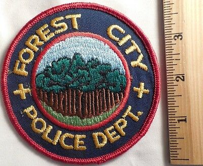 Forest City North Carolina Police Patch (Fire, Highway Patrol, State Police)