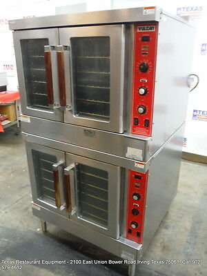 Vulcan Gas Double Stack Full Size Convection Oven SG4D