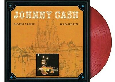 Johnny Cash - In Prague Live LIMITED LP red Vinyl NEU