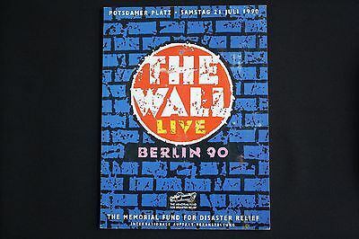 ROGER WATERS - THE WALL LIVE - Berlin 90 Concert Programme