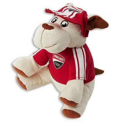Genuine Ducati Cucciolo Peluche Plush Dog Teddy Small Mascot Panigale Monster