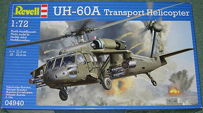 Revell Uh-60A Transport Helicopter New Mint & Sealed 1/72