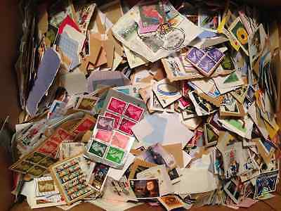 5 KILOS CHARITY STAMPS NO UNFRANKED(inc box weight)