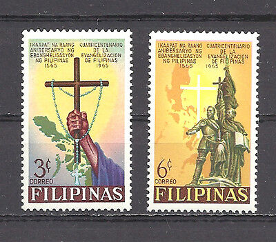 Philippines , 1965 , 400Th Anniv. , Set Of 2 ,  Perf, Mnh