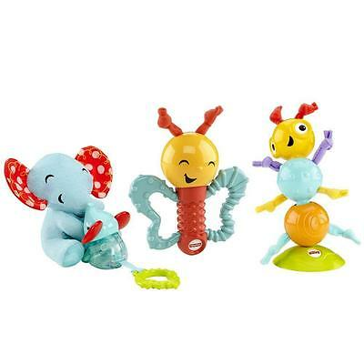Fisher Price Wigglin Gigglin Gift Set Comforter Rattle Teether Baby Toys