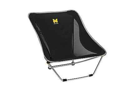 NEW Alite Designs Mayfly Chair Camping Hiking Fishing Portable Chair Color Black