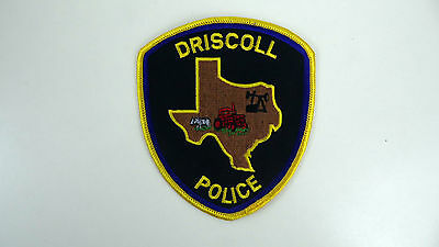 Driscoll, Texas, Police Dept Patch