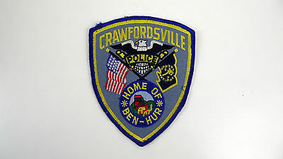 Crawfordsville, Indiana, Police Dept Patch