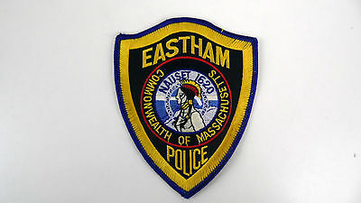 Eastham, Commonwealth Of Massachusetts, Police Dept Patch