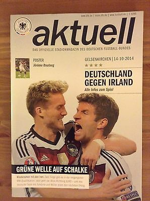 Germany Vs Republic Of Ireland 14 Oct 2014