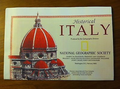Map of Italy and Historical Italy by National Geographic Society 1995