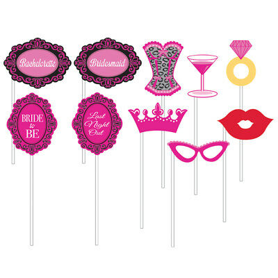 Photo Props Hen Night Party Game