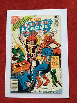 Justice League Of America Issue153 from 1978 DC Giant 1st Appearance of Ultraa