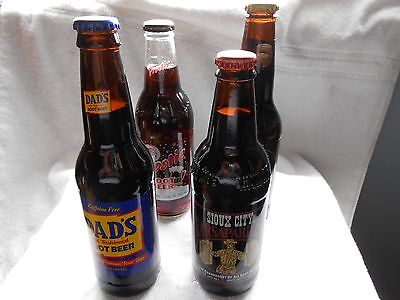 Old time Craft Root Beer Soda Pop Full Bottles Old time Craft
