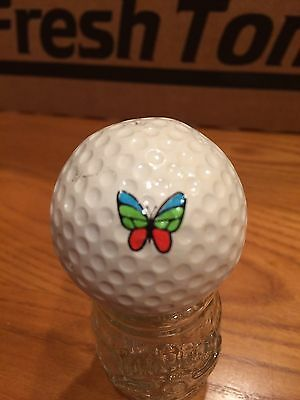 Butterfly Logo Golf Ball, Old Vintage