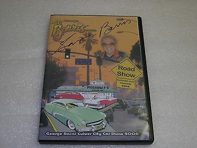 George Barris Road Show 2006 Hand Signed Autograph CD Cover with CD