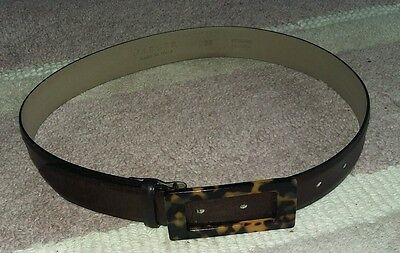 Jaeger ladies brown leather belt