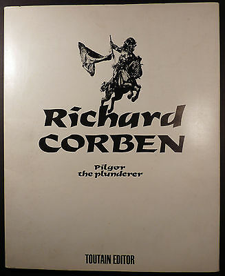 Pilgor the plunderer Port-Folio de Corben Ed. Toutain Editor TBE