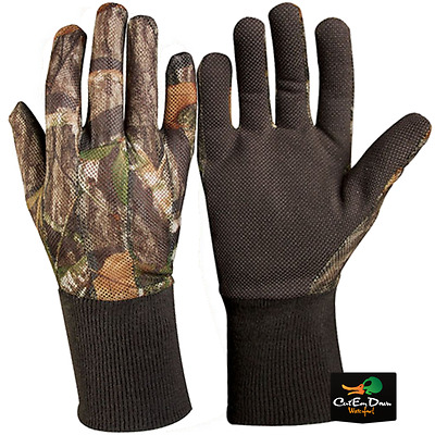 Drake Waterfowl Ol Tom Turkey Mesh Back Gloves Mossy Oak Obsession Camo Xl 640997249d44
