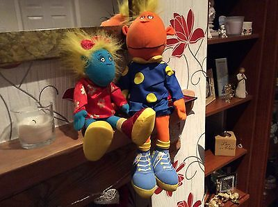 Fizz And Jake Soft Toys From The Tweenies