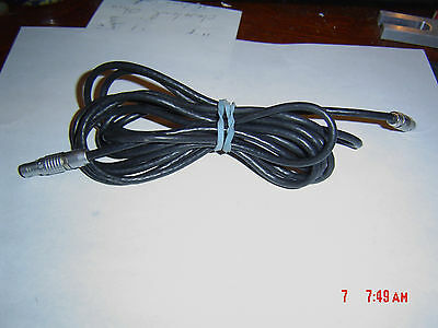 8 1/2 ft of DECATUR ELECTRONICS GENESIS II POLICE RADAR ANTENNA CABLE