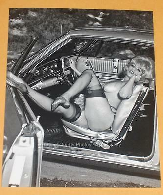Vintage Blonde Pinup 4x6 Photo Elmer Batters Model print C6