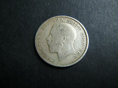 1922 George V ONE Shilling 1/- Coin  .500 Silver  Circulated SEE PHOTOS