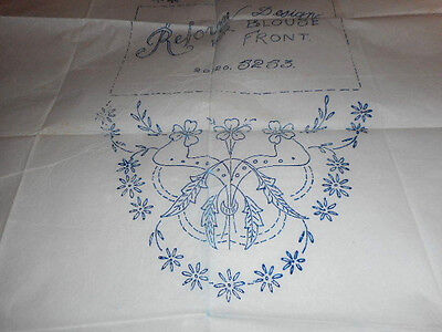 Vintage Embroidery Iron on Transfers No. 5253-  Flowers