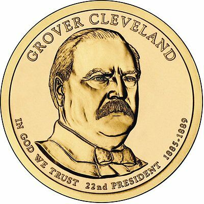 USA: 1 $ 2012 D - 1 Dollar  (22 nd president Grover Cleveland 1885-1889)  S/C