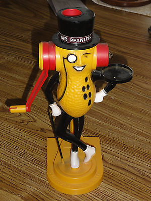 Vintage Mr. Peanut Collectible Planters Peanut Butter Maker - RARE - WORKS FINE