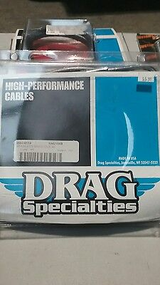 """Drag Specialties Stainless Braided 48"""" Idle Cable #0651-0113"""