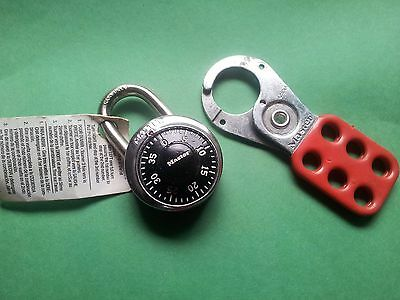 set of Master locks, a lockout and Combination lock