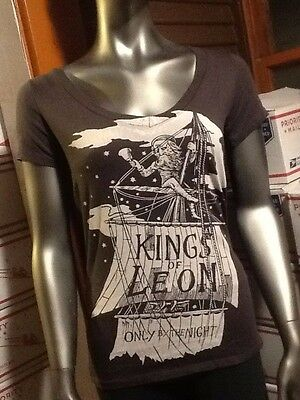 New Kings Of Leon Only By The Night Barking Irons Shirt S Limited Edition Womens