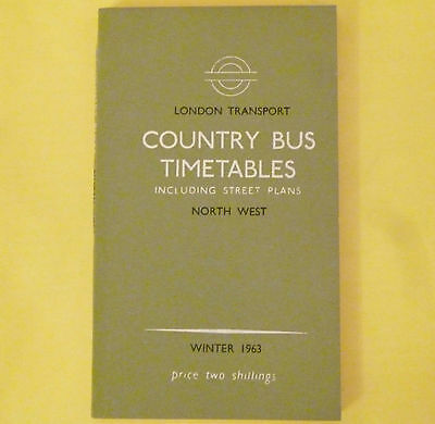 LONDON COUNTRY BUS SERVICES NW District 1963 TT