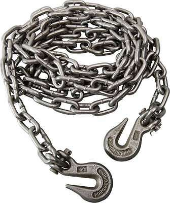 5/16''x14 Foot Heavy Duty Utility Chain Clevis Grab Hooks Grade 43 - 4000LB LOAD
