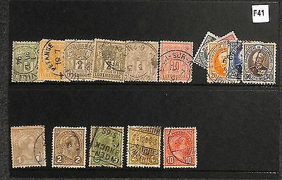 f41-Luxembourg Selection-Used
