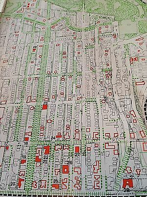 RARE 1975 Steinbrueck Map 38 x 18 Seattle's U District + Photos & Arch.Drawings