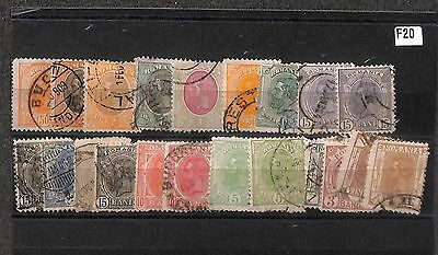 F20-Romania Collection-Mint & Used