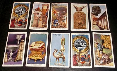 10 Churchman Cigarette Cards Treasure Trove