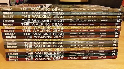 The Walking Dead Graphic Novels Comics Volume 1 to 16