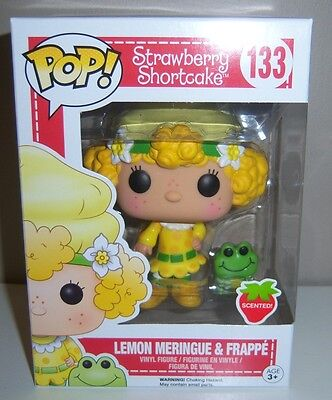 FUNKO POP Strawberry Shortcake LEMON MERINGUE & FRAPPE 133 - NEW (SCENTED)