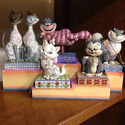 Jim Shore Disney Traditions -The Cats collection