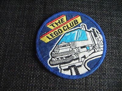 THE LEGO CLUB WOVEN BADGE 1970s