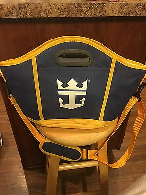 Royal Caribbean Cruise Line Insulated Cooler Bag Tote w Attached Bottle Opener