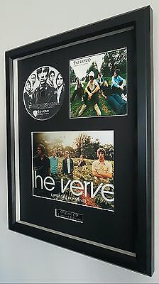 The Verve-Urban Hymns-Framed Original CD-Ltd Edition-Metal Plaque-Certificate