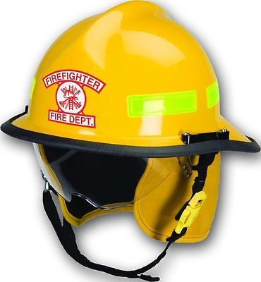 3M Reflective Arch-Style Fire/Rescue/EMS Helmet Front Decal - Firefighter